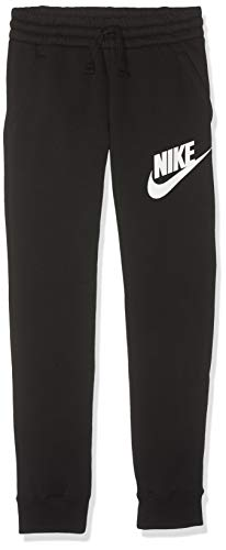Nike Jungen Sportswear Club Fleece Hose, Black/White, M