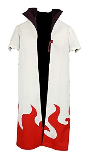 Chong Seng CHIUS Cosplay Costume Blank Cloak for Hidden Leaf Yondaime Hokage Version - Minato Hokage Kostüm