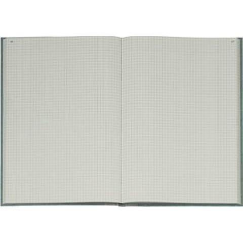 König & Ebhardt libro de negocios, una manta de piel de elefante, tela escocesa, A5, 148 x 210 mm, 96 hojas, de color azul