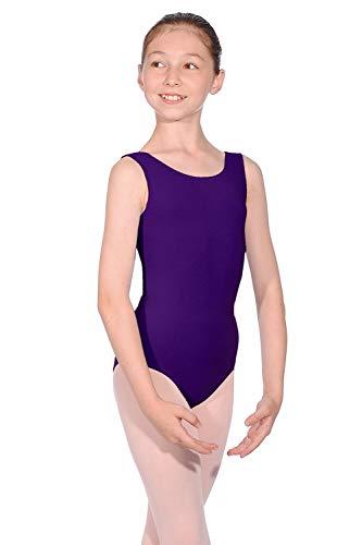 fdd5c0b9dda9c Roch Valley ILEO - Maillot de danza para exámenes del Imperial Society of  Teachers of Dancing morado violeta Talla:Ladies 12/14 (Adults) 5