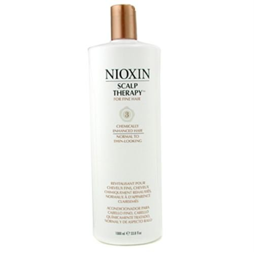 System 3 Scalp Therapy For Fine Hair, Chemically Enhanced, Normal to Thin-Looking Hair 1000ml/33.8oz
