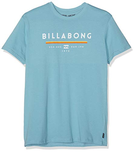BILLABONG Herren Unity SS Kurzarm-t-Shirt, Aqua Blue, XXL -
