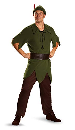 Adult Peter Pan Fancy dress costume Standard