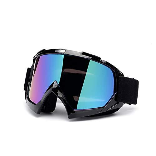 Adisaer Sportbrille Indoor Brille Ritter Ausgestattet Mit Offroad Brille Motorradbrillen Skibrille Style 10 Damen Herren