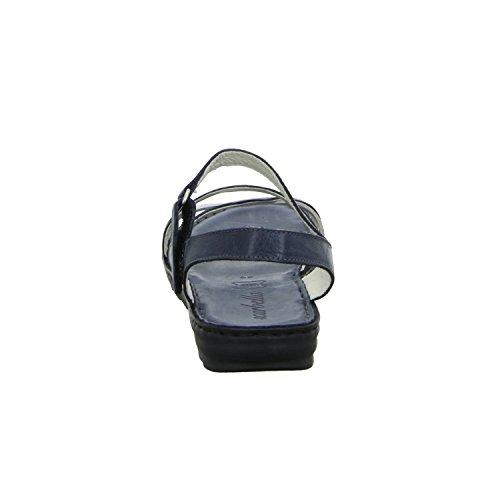 scarbella 866430030 Damen Sandalette sportlicher Boden Blau (Blau) 2xFBdT2n