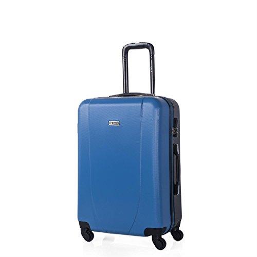 Trolley ABS en dos colores - Azul/Antracita