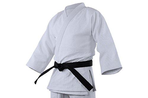 buying new discount shop biggest discount adidas J800 Elite Judo Kimono White White Stripes T/200 - adij800