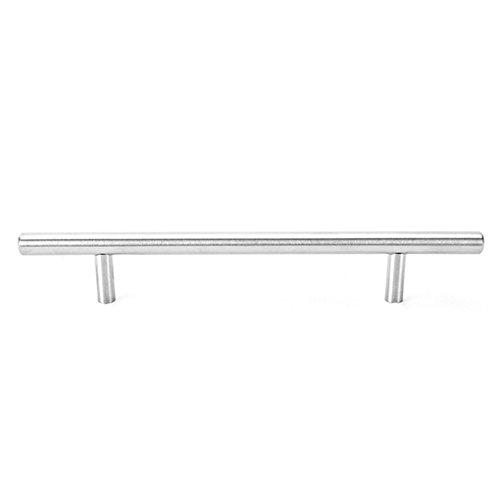 Ruiboury Durchmesser 10 mm Edelstahl-Küche-Tür-Kabinett-T Schalengriff Knob Griff Griff Ziehen
