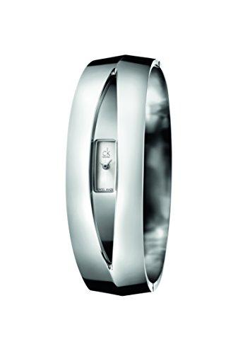 Calvin Klein Reloj Analógico para Mujer de Cuarzo con Correa en Acero Inoxidable K4T2MC11