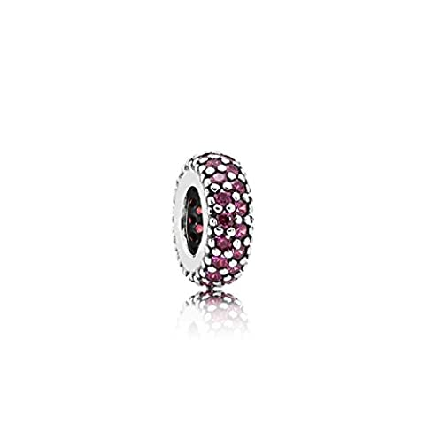 Pandora Charm 791359CZR Sterling-Silber, Cubic Zirkoni