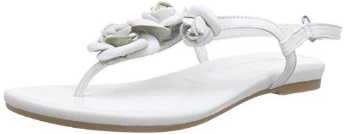 Tamaris28121 - Sandali Donna , Bianco (bianco (White 100)), 38 EU