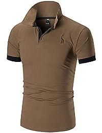 ShirtE Amazon T itMarrone CamicieAbbigliamento Polo TKJ3lF1c
