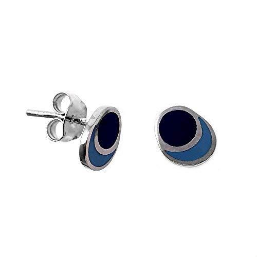 Silber-Ohrringe Agatha Ruiz de la Prada 8.5mm. Eclipse [AB7157]