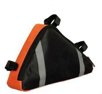 flowerkui Bike Triangle Bag Front Sattel Rahmen Tasche