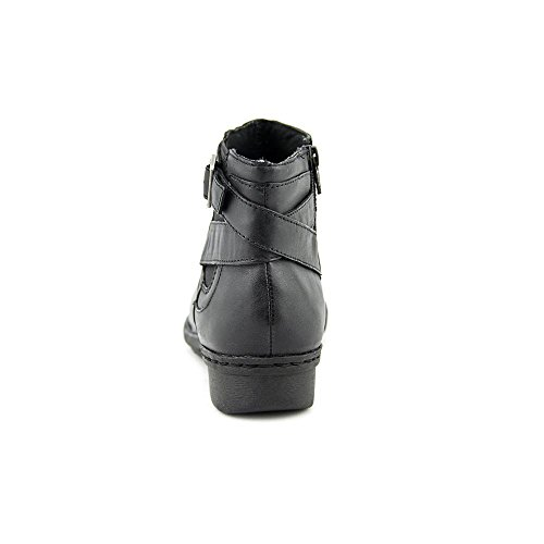 Clarks Womens Whistle Arbuste Boot Black Smooth Leather