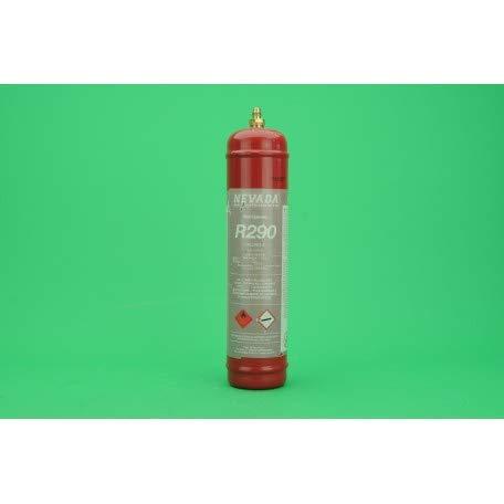 REPORSHOP - BOTELLA GAS PROPANO R290 ENVASE 370GR PRECINTADO RETORNABLE BOMBONA