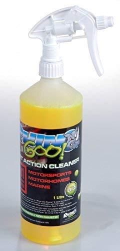 Rhino Goo! Fast Action Cleaner 1L - Nettoyant de vélo et dégraisseur de chaîne pour VTT, vélos de route et motos