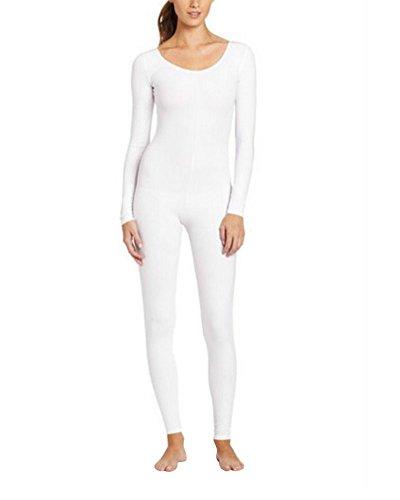 Anyu Unisex Ganzkörperanzug Erwachsene Halloween Kostüme Weiß XXL (Weiße Kostüme Für Halloween)
