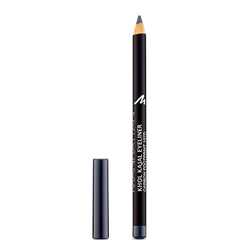Manhattan Khol Kajal Eyeliner, Grauer Kohle-Kajalstift für Smokey Eyes und eine ideal umrandete Augenkontur, Farbe Carbon Footprint 107D (1 x 1,3g)