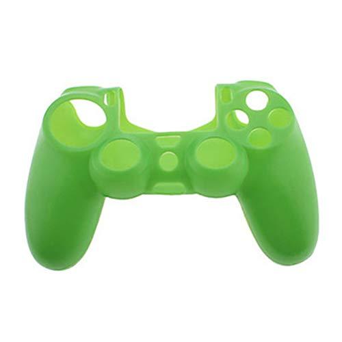 Naisicatar Silikon schützende Haut Fall Anti-Rutsch-Schutzhülle Grip Standard-Schutzhülle für PS4 Controller (Grün) Party-Geschenke -