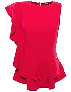 GUESS - Canotta donna t-shirt senza maniche nina top w73h80w8uo0