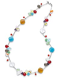 Leonardo Jewels Damen-Halskette Colours Edelstahl 10944