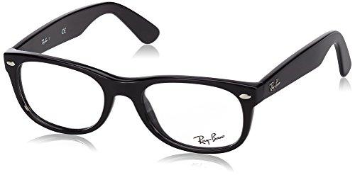 Ray Ban Brillengestell RX5184 2000 50-18 New Wayfarer schwarz