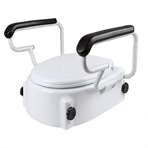 ZYHA Toilettendeckel Toilettensitz Erhöhen Sie den Toilettenhandlauf