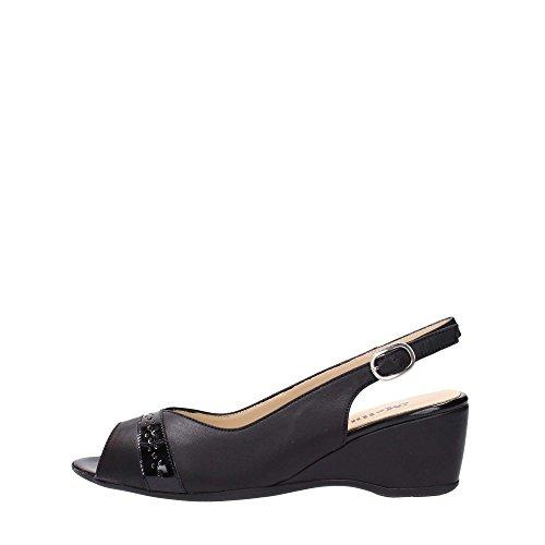 Melluso G072V Sandalo Donna Nero