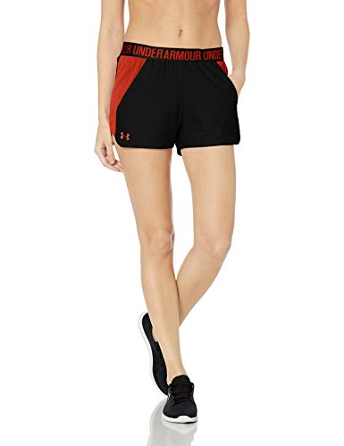Under Armour Damen Play Up Short 2.0 Kurze Hose, schwarz Black/White (002), S