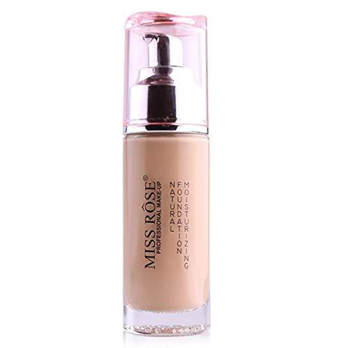Gesichtsbehandlung Flüssige Grundierung Gesichtsfarbe Wasserdicht Concealer Coverage Makeup Base 50g Bilden (Color : G) -