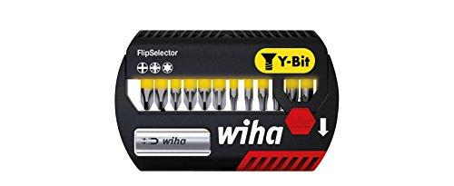 Wiha Bits, FlipSelector Y-Bit; PH/PZ/Torx, 25 mm, für das Verschrauben von Schrauben in Y-Form