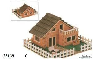 keranova 35139 baukasten backstein haus modell 139 spielzeug. Black Bedroom Furniture Sets. Home Design Ideas