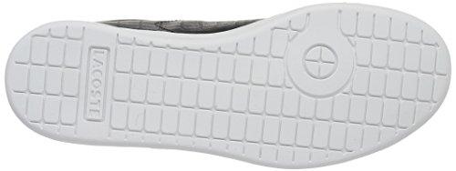 LacosteCarnaby Evo G316 2 - Scarpe da Ginnastica Basse Unisex – Bambini Nero (BLK/BLK 02H)