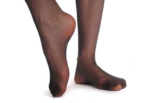 Black-Stockings-With-Adjustable-Suspender-Belt-Stockings-Negro-Medias-de-liga-Talla-unica-36-42