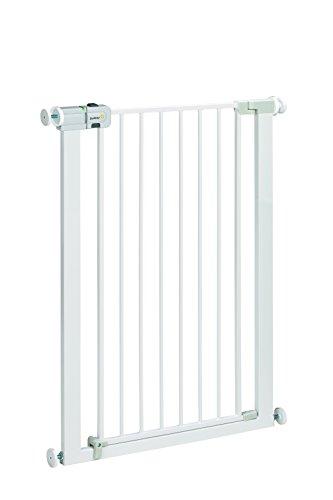 Safety 1st Easy Close Extra Tall Treppenschutzgitter, extra hohes Tütschutzgitter aus Metall zum Klemmen, weiß, bis 94 cm verlängerbar - 2