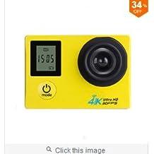LaDicha Xanes K1 4K Wifi Deportes Cámara 1080P 2,0 Lcd Hd 30M Impermeable Dv Video Deporte Extreme Go Pro Mini Grabadora Sport Cámara-Plata
