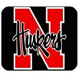 220mm*180mm*3mm Personalized Photo Mouse Pad Nebraska Huskers