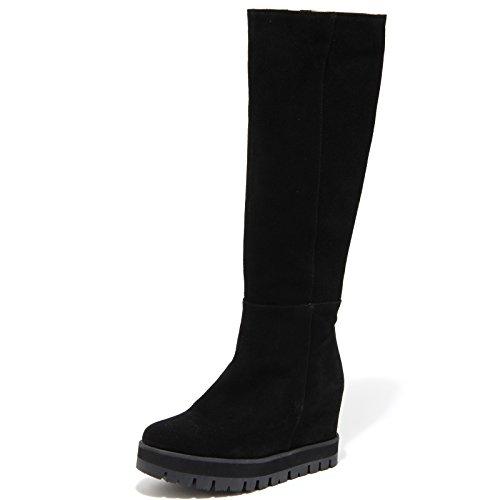 1295M stivali donna neri PALOMITAS scarpe zeppe boots shoes women [40]