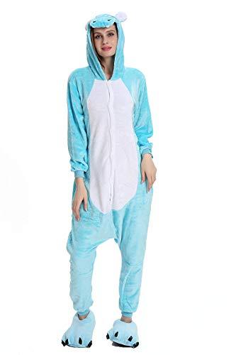 Tuopuda Pijamas Unicornio Unisexo Adulto Traje Disfraz Pijamas de Animales Enteros Cosplay Animales de Vestuario Ropa de Dormir Halloween y Navidad