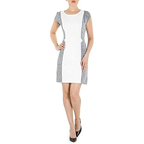 RED Isabel mujer Allium A-line Dress with Contrast Panels