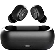 Neckip Mini Auriculares Inalámbricos, QCY T1C Bluetooth Bluetooth V5.0 Auriculares con 380 MAh