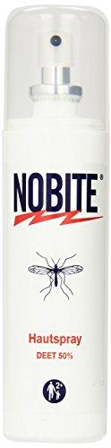 Nobite Hautspray, Insektenabwehrmittel zum Auftragen auf die Haut (100 ml) - Über Nacht Zusätzlichen Schutz