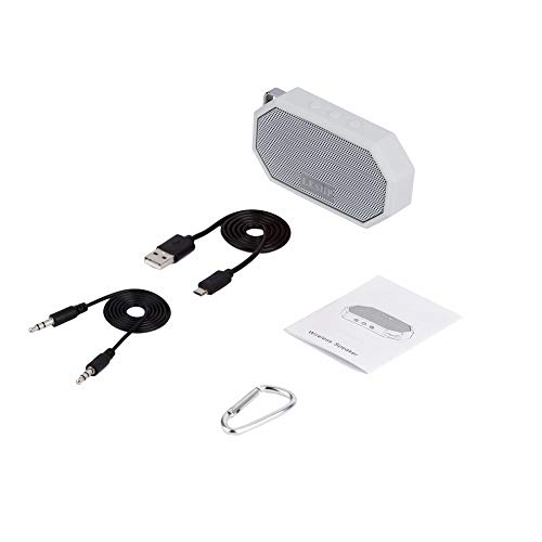 Preisvergleich Produktbild Mouchao LESHP Tragbarer wasserdichter,  stoßfester Funklautsprecher mit Mikrofon