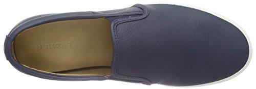 Lacoste  GAZON 8, pantoufles hommes Bleu - Blau (NVY 003)