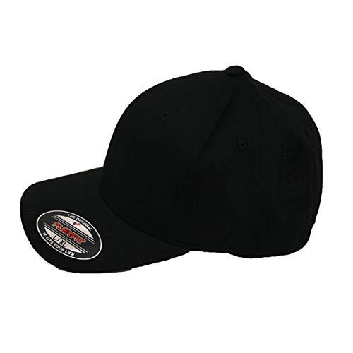 Flexfit Kappe Blanko Cap black - S/M 210 Flex Cap