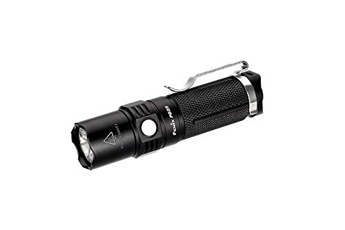 Fenix PD25 Flashlight - flashlights (Hand Flashlight, LED, CR123A, 16340, Black, Aluminium, IPX8)