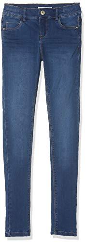 Name IT NOS Mädchen NKFPOLLY DNMZASCHA 2240 PANT NOOS Jeans, Blau (Medium Blue Denim), (Herstellergröße: 164)