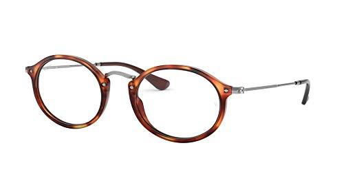 Ray-Ban Unisex RX2547VF Eyeglasses Havana Red 53mm