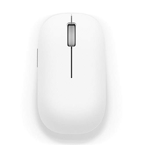 LMDZSW Wireless Mouse 1200 DPI 2,4 GHz optische Maus Mini tragbare Maus für MacBook Mi Notebook Laptop-Computer Maus   weiß -